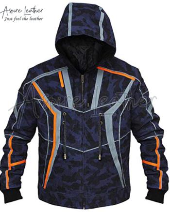 Avengers Endgame Infinity Iron Man Camouflage Jacket