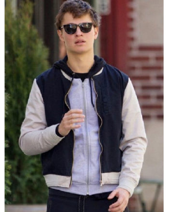 Ansel Elgort Baby Driver 2017 Jacket