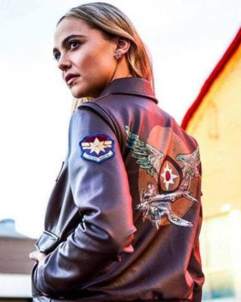 Captain Marvel Carol Danvers Flight Bomber Jacket