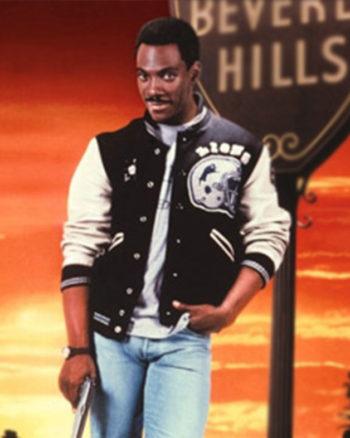Eddie Murphy Beverly Hills Cop Detroit Lions Jacket