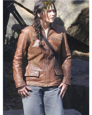The Hunger Games Jennifer Lawrence (Katniss Everdeen) Jacket