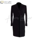 Peter Capaldi Velvet Frock Style 12th Doctor Black Coat