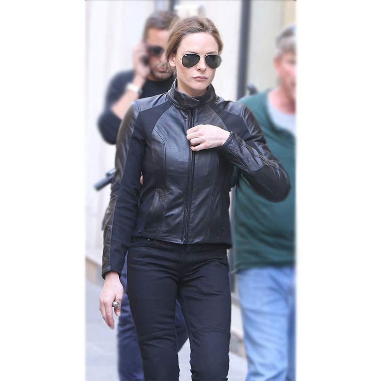 Rebecca Ferguson Mission Impossible 6 Leather Jacket