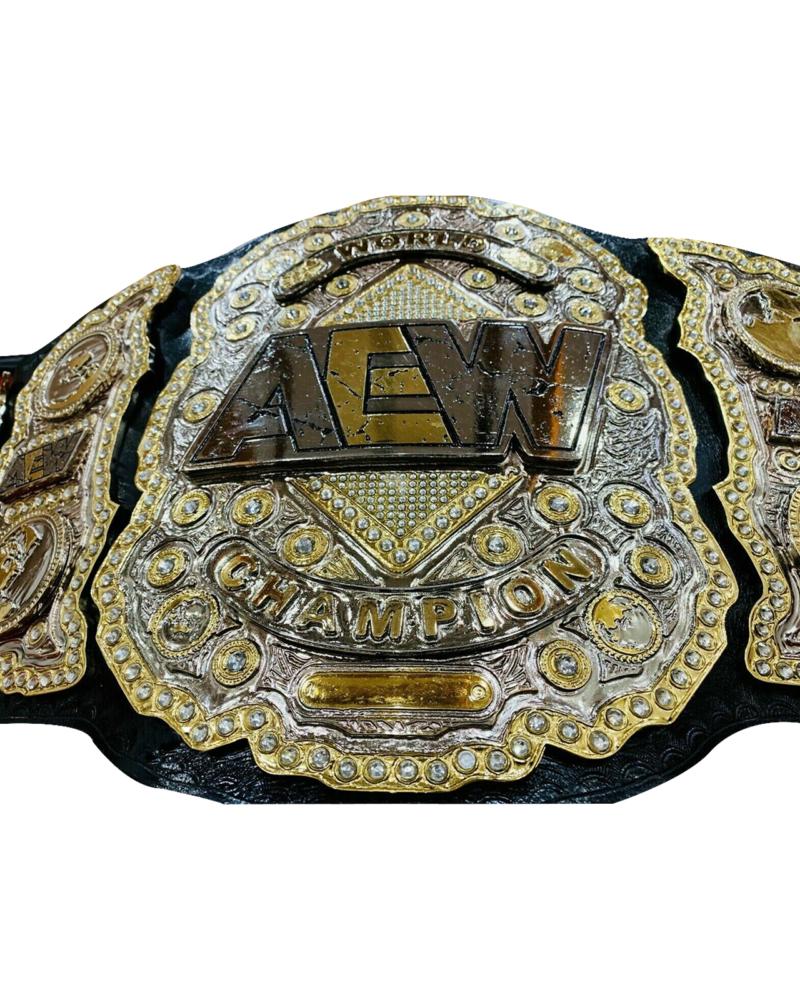 AEW Heavyweight Championship Replica Leather Belt